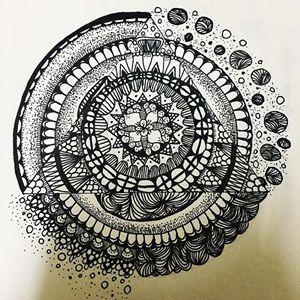 mandala art #5