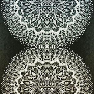 Mandala Art inked #4