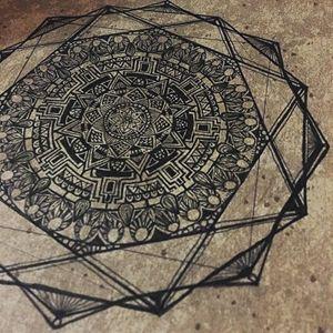 mandala art design #3