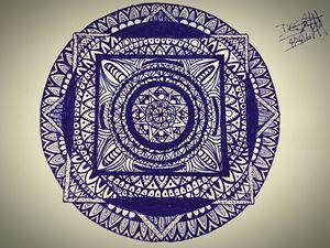 Mandala Inked #1