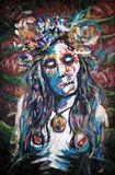 24x37 oil and acryllic on canvas