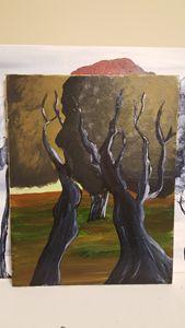 Apocolyptic Summer 11x14 in Acrylic