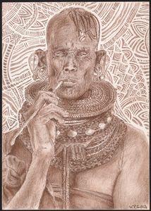 Soul smoking (Northern Kenya)
