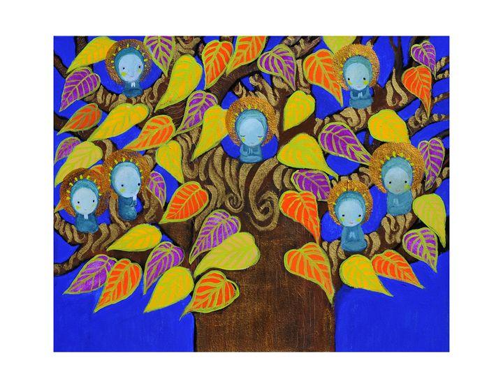 Prayer tree - Amalia Low