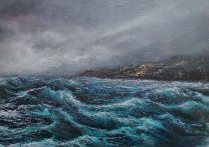 Storm headland