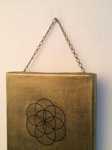 Golden flower of life