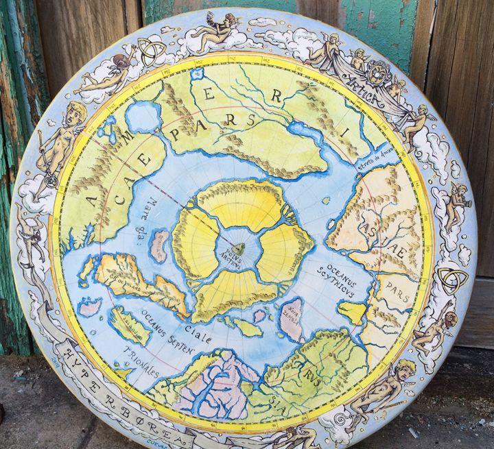 MAP OF HYPERBOREA - Arseniy Dyrdin