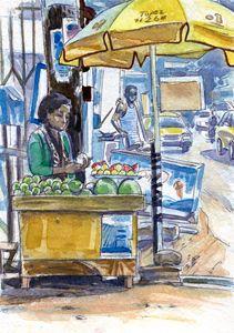 Fruits For Sale - Erlson's Art