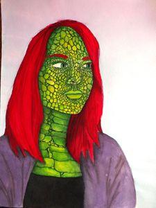 Lizard Self Portrait