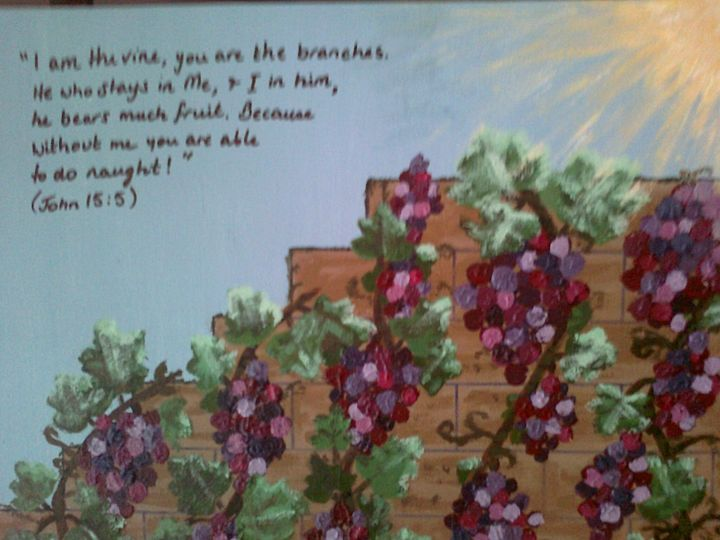 Abide in Yahshua - HalleluYAH Art