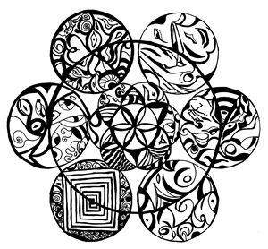 Pick One Mandala