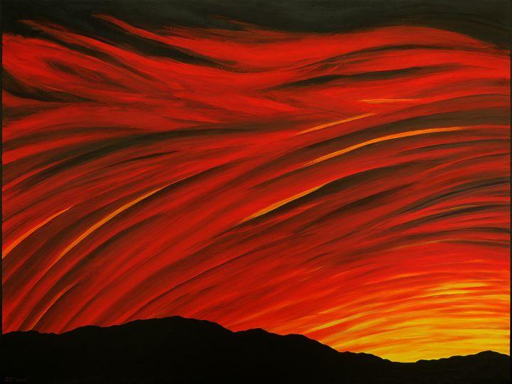 Red Sunset - John Clisset