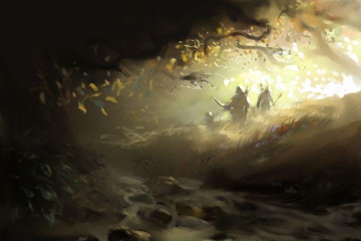 forest stream - Anthon Bock