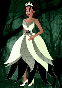 Princess Tiana Without the Frog