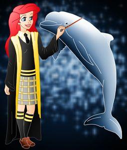 Princess Ariel at Hogwarts