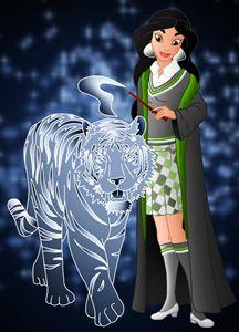 Princess Jasmine at Hogwarts