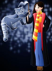 Princess Mulan at Hogwarts