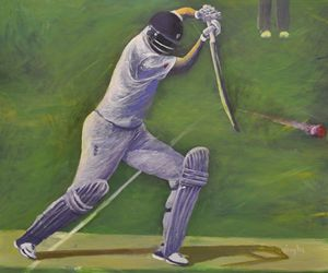 Perfect Drive - Painted by Jayantha Nagasinghe