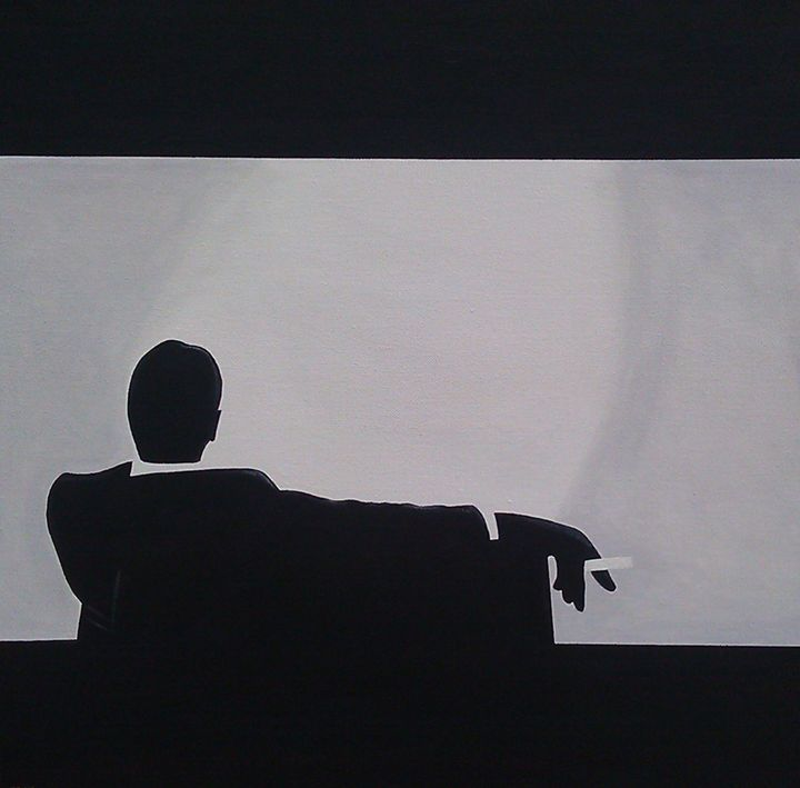 Man Men in Silhouette - The Art of John Lyes