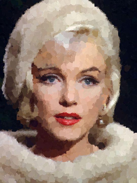 Norma Jeane Portrait - Portraits by Samuel Majcen