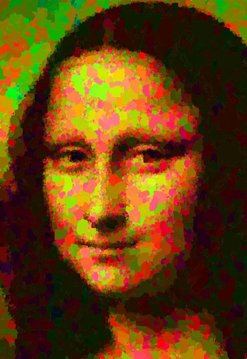 Mona Lisa - Portraits by Samuel Majcen