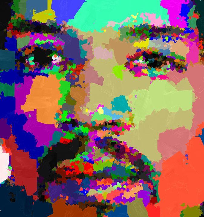 Jimi Hendrix - Portraits by Samuel Majcen