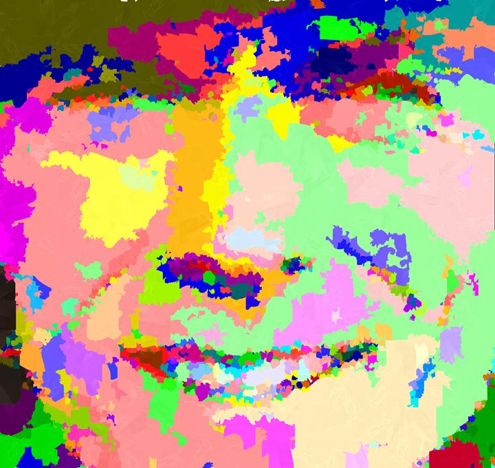 Clint Eastwood - Abstract - Portraits by Samuel Majcen