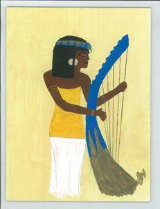 Egyptian Lady Musician