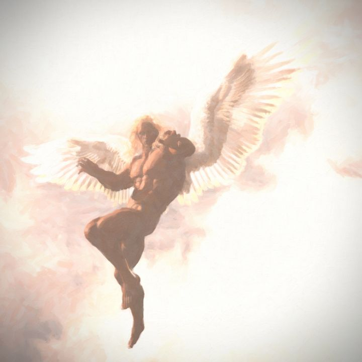 Angel Among Clouds - Becket