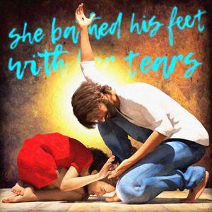 Luke 7:38