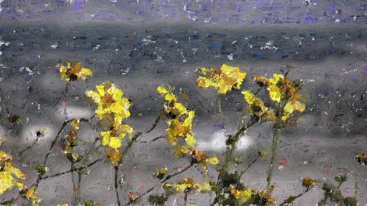 Flowers need water - yellow daisies - Meditations