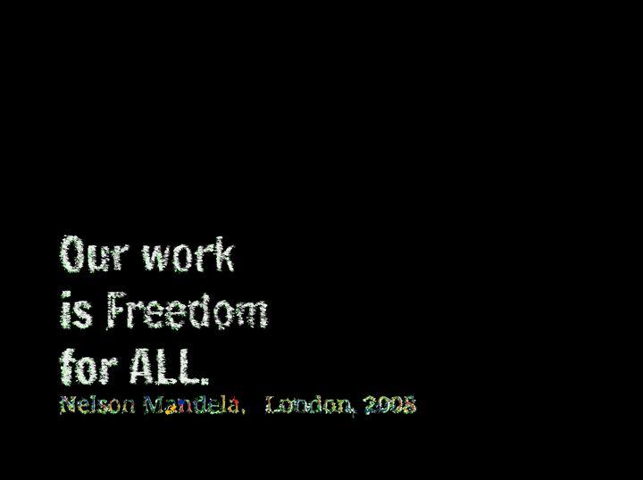 Freedom for all - Mandela - Meditations