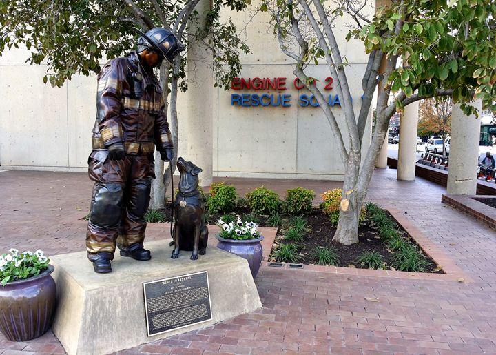 National Fire Dog Memorial - Attucks Adams