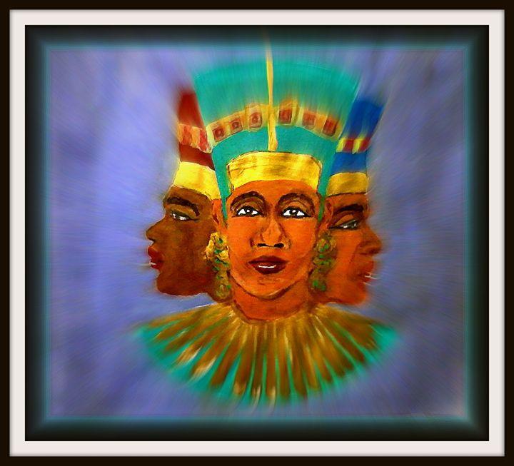 Nubian Queens - NOAH'S Art Gallery