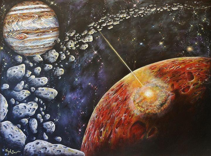 Asteroid Belt - Angela Bomarito