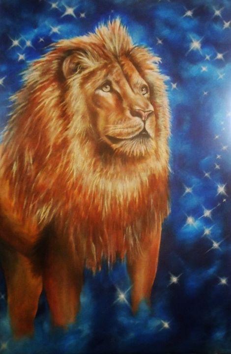 Leo the Lion - Angela Bomarito