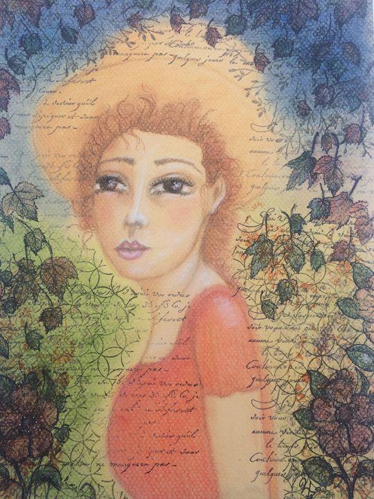 Fall In Pastels - My Artwork