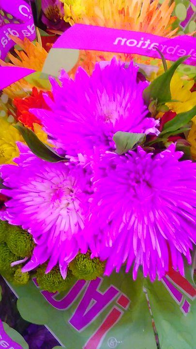 Pink Flowers - SKS