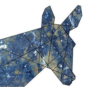 lapis lazuli donkey