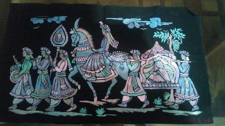Emboss painting - Shreya arts