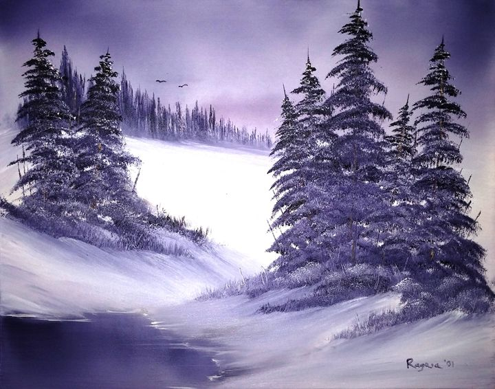 Lavender Winter - Ron Ragusa