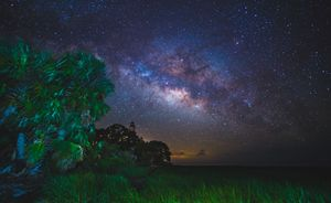 The Milky Way from St. Marks - Photography by Michael Riffle