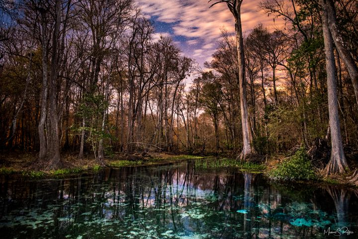 Naked Springs After Dark - Photography by Michael Riffle