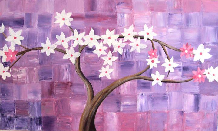 Cherry Tree and Peace - Carolina Victoria