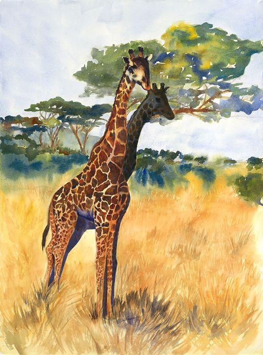 Giraffes - Hilda Vandergriff