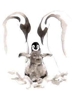 Penguin Family II