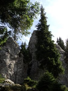 Huge stones agglomeration
