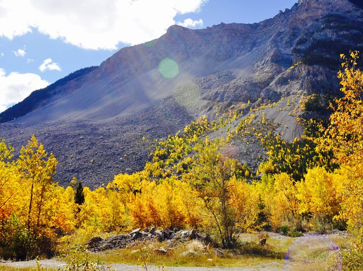 Turtle Mountain in Fall - Fledgling Creations