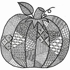 Zen Pumpkin