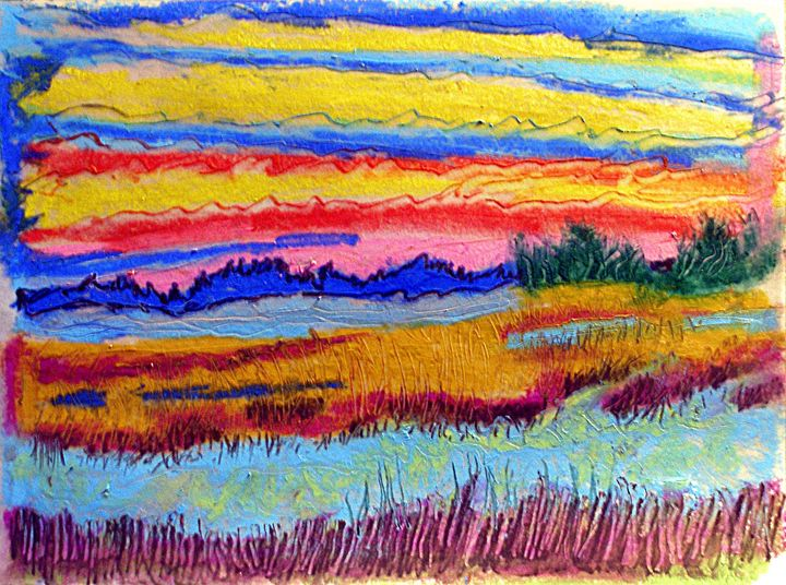 Salt Marsh in Winter Dusk - Don Schaeffer's Gallery
